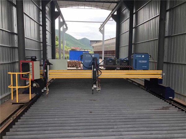Peiriant Torri Plasma Precision CNC Cywir 13000mm Gyda Servo Motor